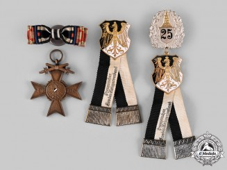 Germany, Weimar Republic. A Lot of Veterans Badges