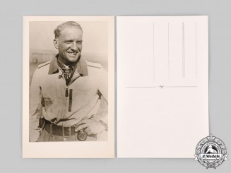 Germany, Luftwaffe. A Photograph of Hans-Ulrich Rudel
