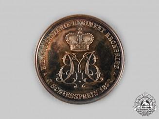Bavaria, Kingdom. An 1898 Silver Bavarian Regimental Marksmanship Medal, by Alois Börsch