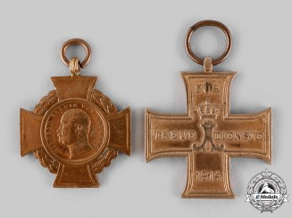 Germany, Imperial. A Pair of Service Decorations