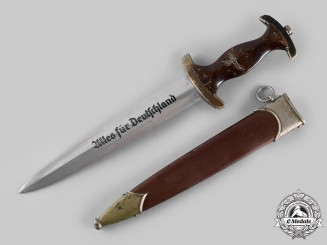 Germany, SA. A Sturmabteilung (SA) Model 1933 Dagger by Aesculap AG