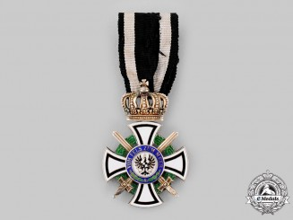 Prussia, Kingdom. A House Order of Hohenzollern, Knight's Cross with Swords, by Johann Wagner & Sohn