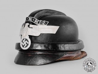 Germany, NSKK. A National Socialist Motor Corps (NSKK) Crash Helmet, by Carl Busse