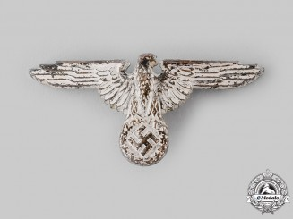 Germany, SS. A SS Visor Cap Eagle, by Ferdinand Wagner