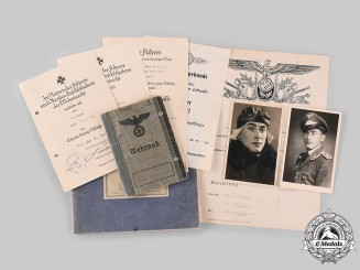 Germany, Luftwaffe. An Extensive Lot of Documents & Photographs to Feldwebel Egid Roidl