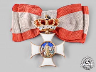 Bavaria, Kingdom. An Order of St. Elizabeth in Gold, Member's Cross, c.1880