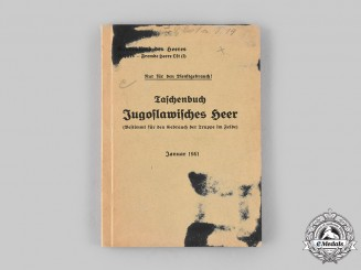 Germany, Heer. A 1941 Guidebook for the Yugoslavian Army
