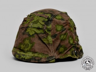 Germany, Waffen-SS. A B-Pattern Camouflage Helmet Cover