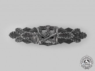 Germany, Wehrmacht. A Close Combat Clasp, Bronze Grade, by Rudolf Souval