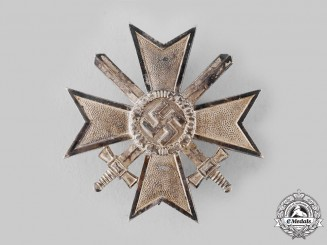 Germany, Wehrmacht. A War Merit Cross, I Class with Swords, by Julius Bauer & Söhne