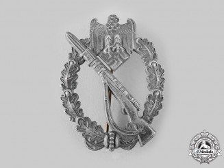 Germany, Heer. An Infantry Assault Badge by Franke & Co.