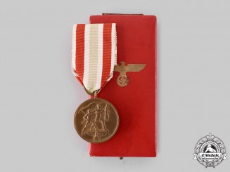 Germany, Third Reich. A Return of Memel Commemorative Medal, with Case, by Paul Meybauer