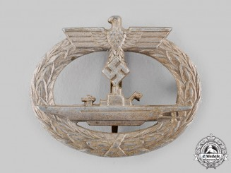 Germany, Kriegsmarine. A U-Boat War Badge, by Funcke & Brüninghaus