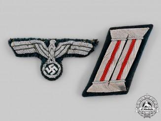 Germany, Heer. A Pair of Heer Flak/Artillery Officer's Insignia