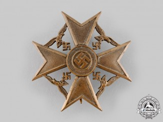 Germany, Wehrmacht. A Spanish Cross in Bronze