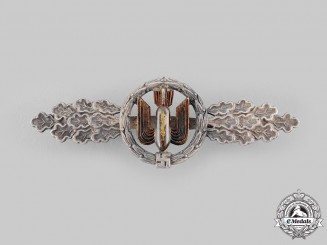 Germany, Luftwaffe. A Bomber Flight Clasp, Silver Grade, by Funcke and Brüninghaus
