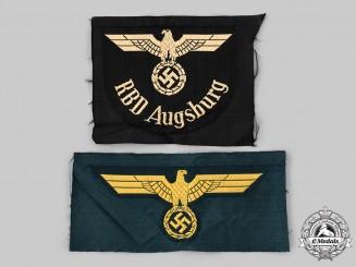 Germany, Third Reich. A Pair of Uniform Eagle Insignia