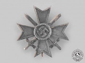 Germany, Wehrmacht. A War Merit Cross, I Class with Swords, by Wilhelm Deumer
