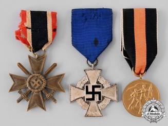 Germany, Third Reich. A Lot of Medals