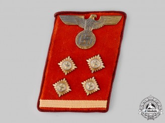 Germany, NSDAP. A Gau-Level Obergermeinschaftsleiter Collar Tab