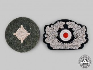 Germany, Heer. A Pair of Uniform Insignia