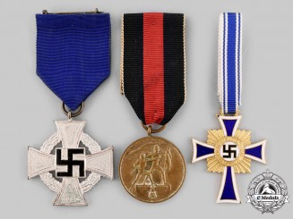 Germany, Third Reich. A Lot of Service and Merit Medals