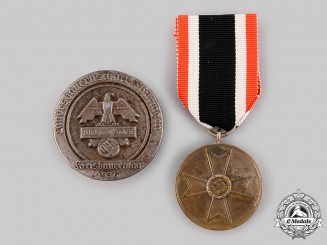 Germany, Third Reich. A Pair of Decorations