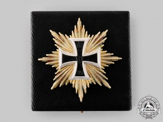 Germany, Imperial. A Star of the Grand Cross of the Iron Cross, with Case, Museum Exhibition Example