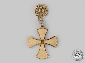 Baden, Grand Duchy. A Baden Women's League 20-Year Long Service Cross, c.1900
