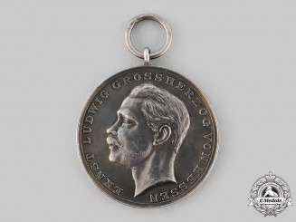 Hesse, Grand Duchy. A Medal for Rescue of Human Life, c.1895