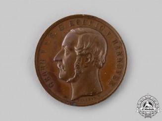 Hannover, Kingdom. A Prototype Medal by Heinrich Brehmer