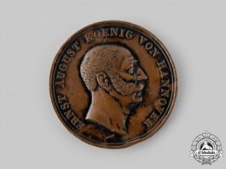 Hannover, Kingdom. A Prototype Medal by Henri-Francois Brandt