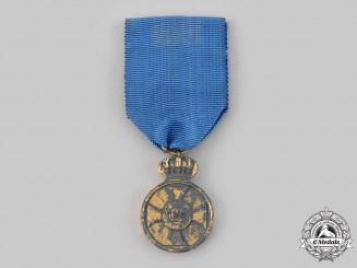 Prussia, Kingdom. An Order of the Crown Medal in Zink, c.1918