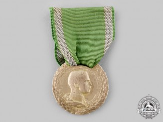 Saxe-Coburg and Gotha, Duchy. A Silver Medal for Art and Science with Laurel Branches, c.1914