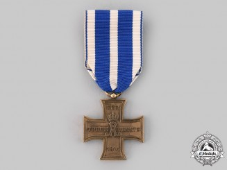 Schaumburg-Lippe, Principality. A 1914 Faithful Service Cross, c.1914