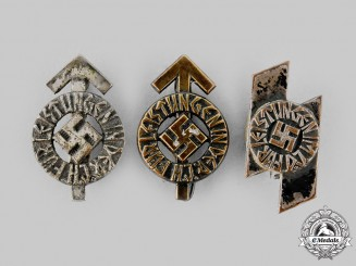 Germany, HJ. A Lot of Miniature Proficiency Badges