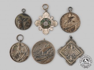 Germany. A Lot of Marksmanship Medals