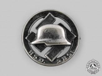 Germany, Der Stahlhelm. A National Socialist German Front Fighters League - Der Stahlhelm Membership Badge