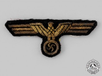 Germany, Kriegsmarine. A Kriegsmarine Officer's Breast Eagle