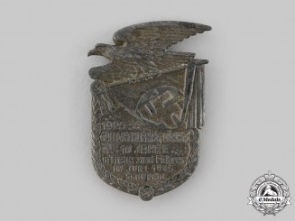 Germany, NSDAP. A Gau Mecklenburg-Lübeck 10-Year Anniversary Badge, by Paul Schulze & Co.