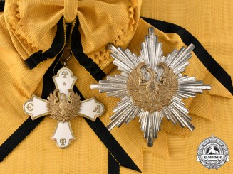 Greece, Kingdom. An Order of the Phoenix, Grand Cross, c.1930
