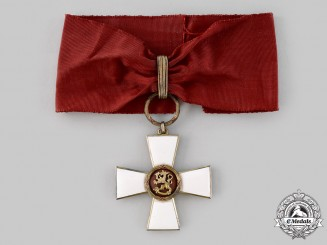 Finland, Republic. An Order of the Lion, Commander I Class Cross, c.1954