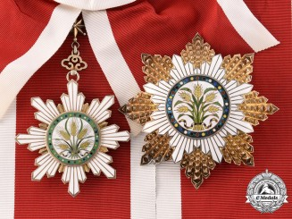 China, Republic. An Order of the Golden Grain, I Class Grand Cross, c.1925