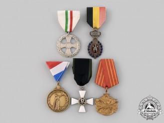 Belgium, Croatia, Italy, Yugoslavia, International. Five Awards