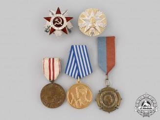 Russia, Serbia, Yugoslavia. Five Awards