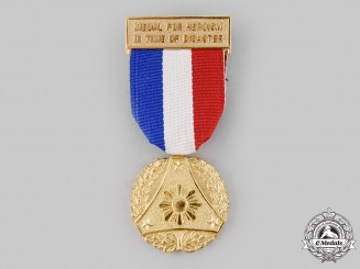 Philippines, Republic. A Medal for Heroism in Time of Disaster, c.1980