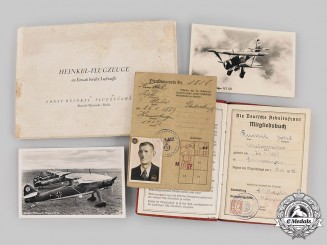 Germany, Third Reich. A Lot of Documents & Photographs, HEINKEL AIRCRAFT