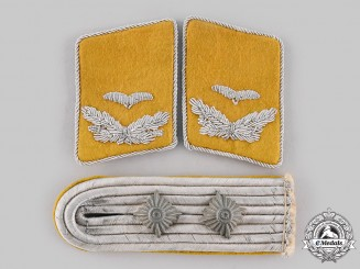 Germany, Luftwaffe. A Lot of Flight Personnel Officer Rank Insignia