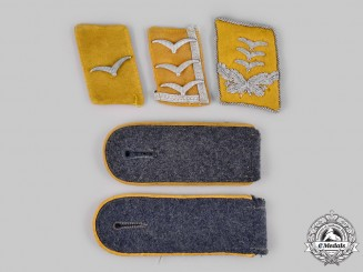 Germany, Luftwaffe. A Lot of Flight Personnel Rank Insignia