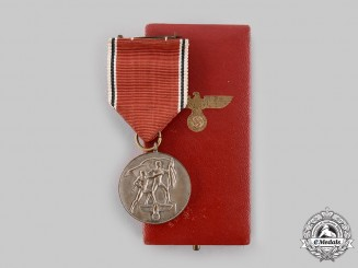 Germany, Third Reich. An Anschluss Medal, with Case, by the Vienna Mint